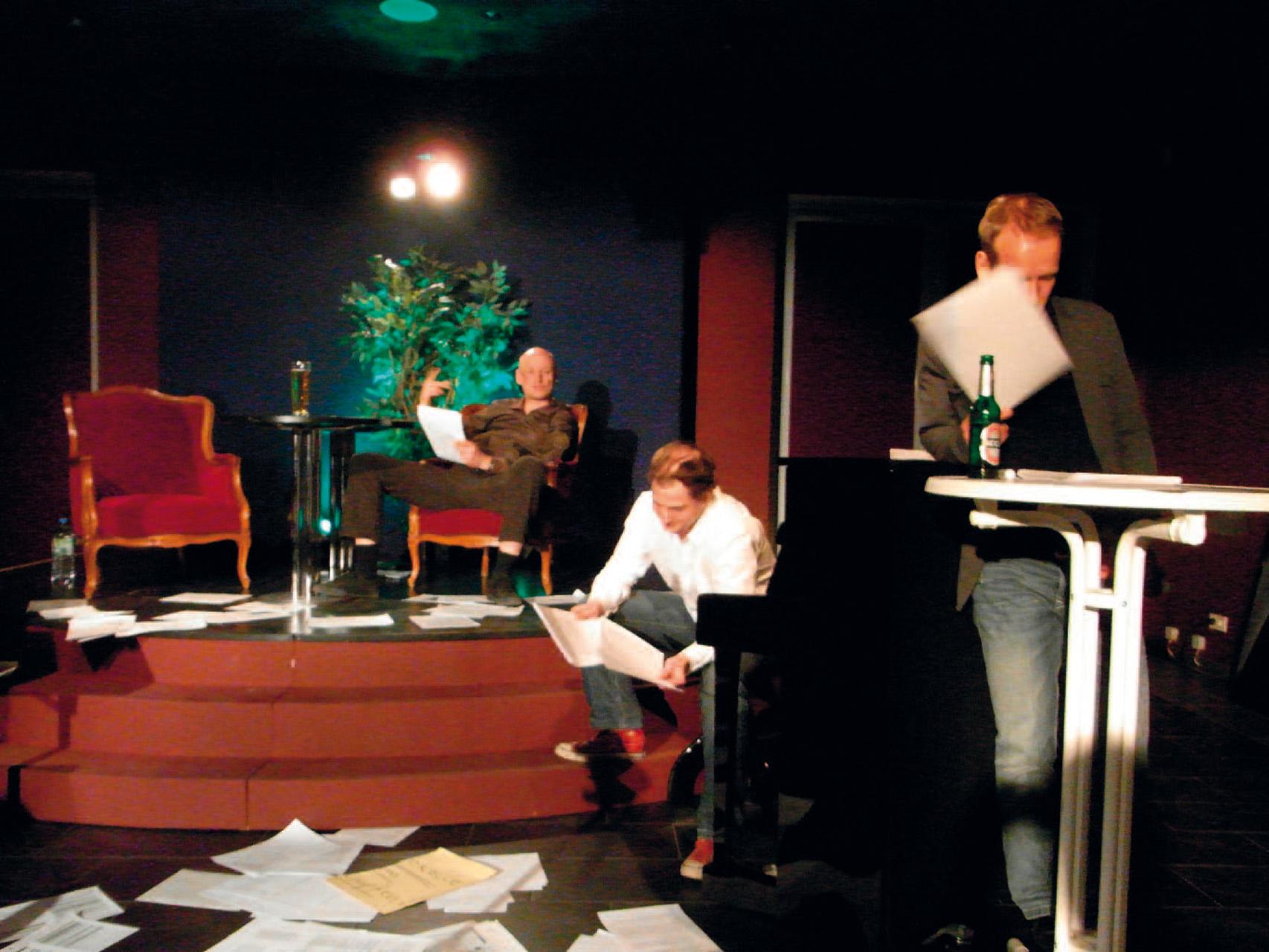 Inszenierungsansicht – szenische Lesung